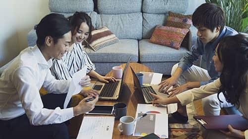 ベンチャー企業のオフィス事例