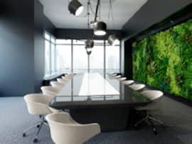 植物を活かして生産性向上。オフィスを快適に!