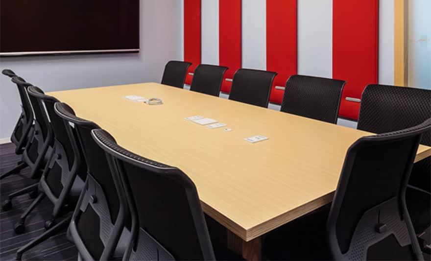 オフィスデザイン実績 ミーティングルーム(シンプル)